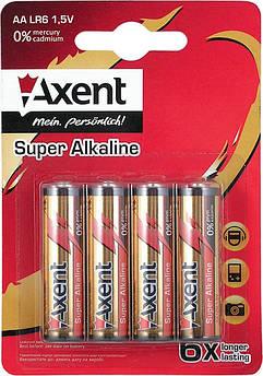 Батарейки ААА LR03 Axent 4шт 5553-А