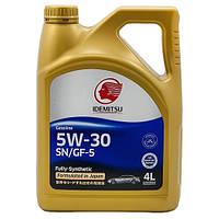 Синтетическое моторное масло Idemitsu 5w30 SN/GF-5 4л