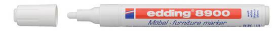 Маркер для мебели Edding белый e-8900/11, фото 2