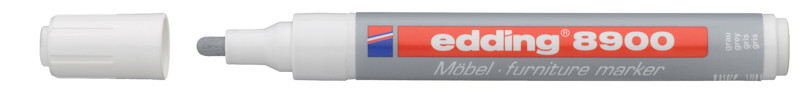 Маркер для мебели Edding серый e-8900/18