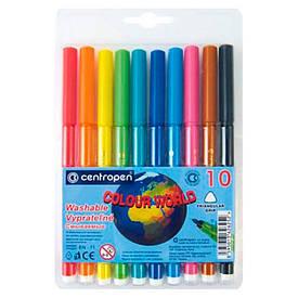 Фломастери Centropen 10 кольорів 7550/10 ТП