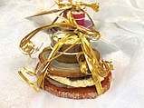 Подарочный чайный набор на 2 персоны (бежевые оттенки), фото 7