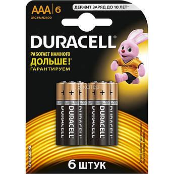 Батарейки Duracell LR3 АAA s.07472