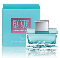 Antonio Banderas Blue Seduction for Women (Антонио Бандерас Блу Седакшен фо Вумен), туалетная вода, 100 ml, фото 1