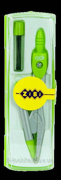 Циркуль с механическим карандашом в боксе + грифель (салатовый) zb.5340mp-04