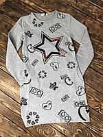Платье туника с карманами(микрофлис), фото 1