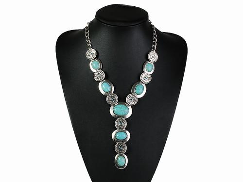 Ожерелье из круглых элементов