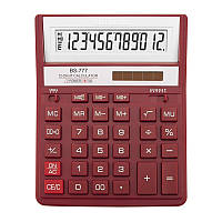 Калькулятор Brilliant 12 разрядов 2-питан. красный BS-777RD