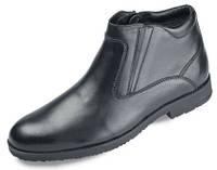 Мужские ботинки классика мида 14773 из натуральной кожи.