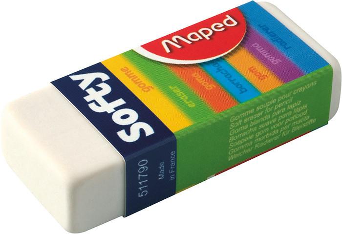 Ластик Maped SOFTY в картонном держателе MP.511790