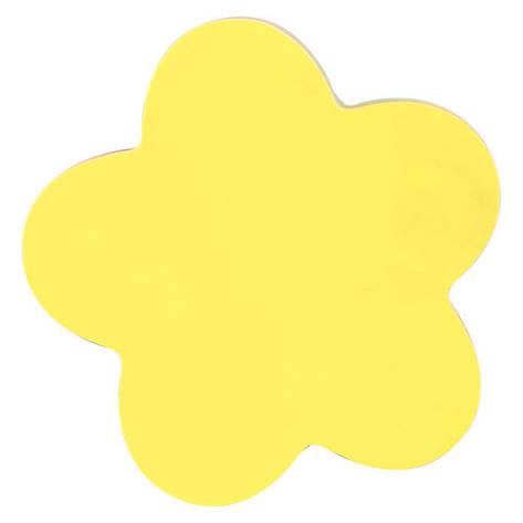 Блок бумаги для заметок липкий слой Axent 70x70мм 50л цветок 2443-05-A, фото 2