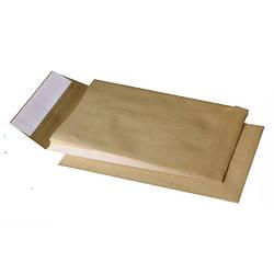 Конверт B4 Куверт 250х353мм коричневый СКЛ с розш. 40мм во узк.стор. 391157