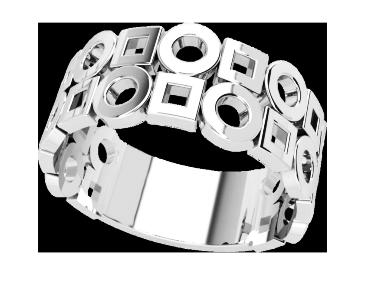 Кольцо  женское серебряное  Style 21163