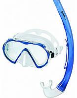 Набор для плавания Mares ALIZE (маска + трубка), синий