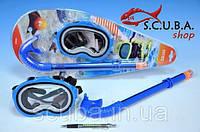 Набор детский для плавания (маска+трубка) Intex SEA LIFE 55942