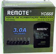 Адаптер / Блок питания (зарядное) 12V мощность до 3А. 7 в 1, фото 1