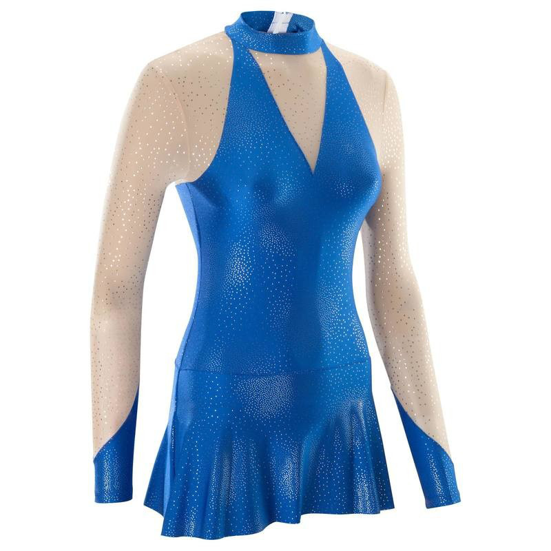 Купальник - платье для гимнастики Domyos 520