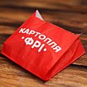 Упаковка для картошки фри (средний) 105х100х50 мм (1000 шт), фото 2