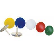 Кнопки канцелярские Buromax цветные 50 шт. BM.5106
