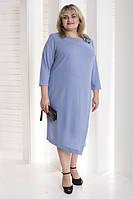 """Женское платье """"Ингрид"""" больших размеров (791И), фото 1"""