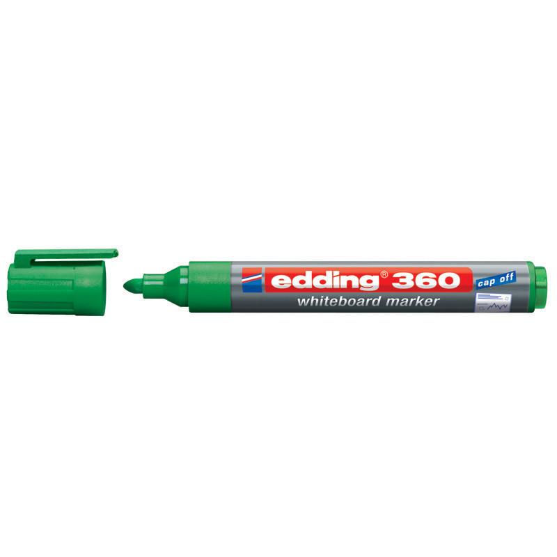 Маркер для досок Board Edding 1.5-3 мм круглый зеленый e-360/04