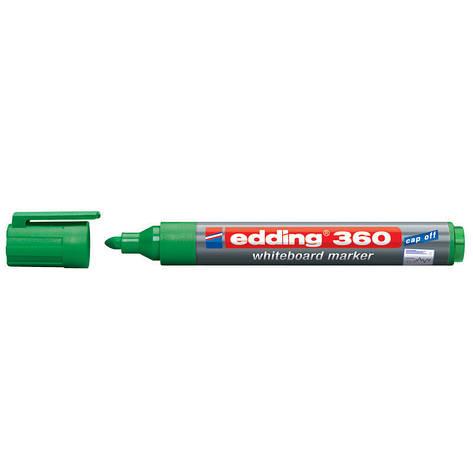 Маркер для досок Board Edding 1.5-3 мм круглый зеленый e-360/04, фото 2