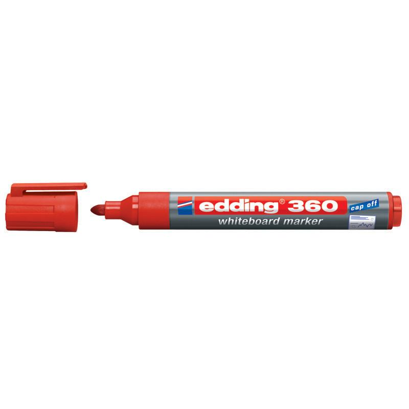 Маркер для досок Board Edding 1.5-3 мм круглый красный e-360/02