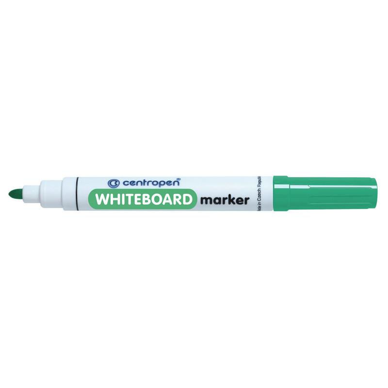 Маркер для досок Board Centropen 2.5 мм круглый зеленый 8559/04
