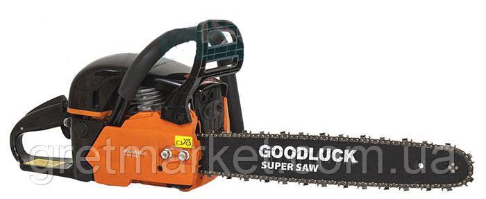 Бензопила Super Goodluck GCS 52-3.5 (2 шины+2цепи)