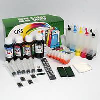 СНПЧ ColorWay Epson XP-600/605/700/800, с чипами, 5 x 50 г чернил (XP600CC-5.5)