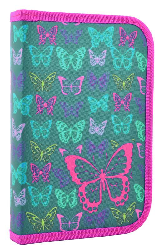 Пенал-книжка Smart 1 отд. 1 отв. Butterfly 531669