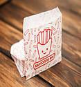 Упаковка для картошки фри мини 105х120х0 мм (1000шт), фото 2