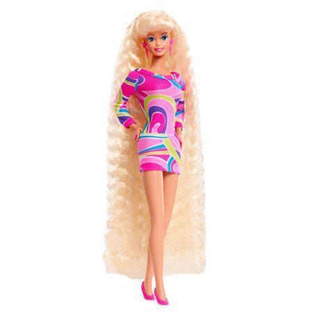 Кукла Барби коллекционная Ультрадлинные волосы Barbie Totally Hair