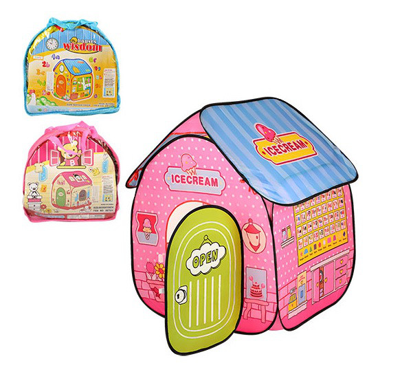 Детская игровая палатка M 3314 Домик (3 вида)