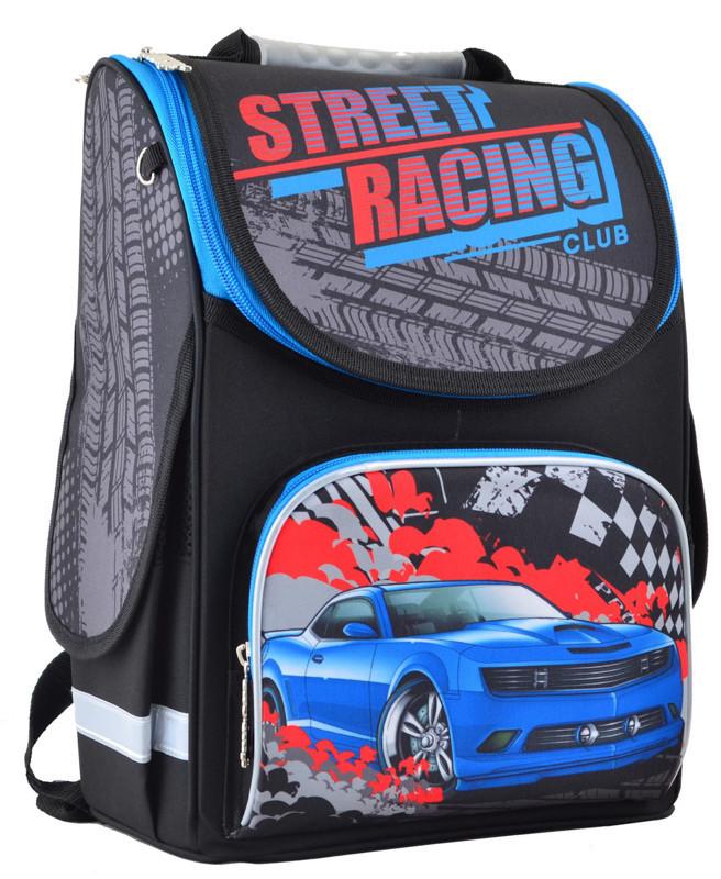Рюкзак школьный Smart каркасный Speed racing 554515