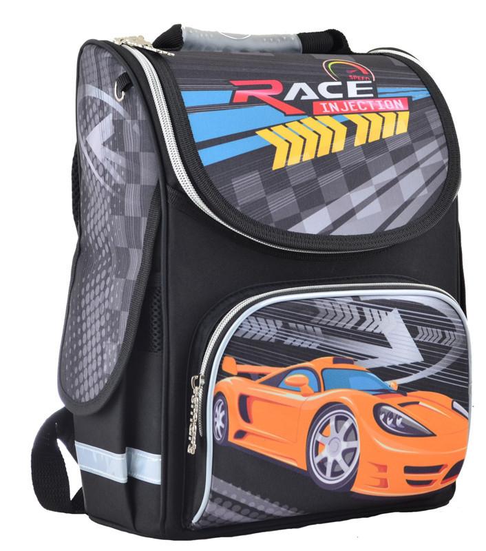 Рюкзак школьный Smart каркасный Race injection 554559