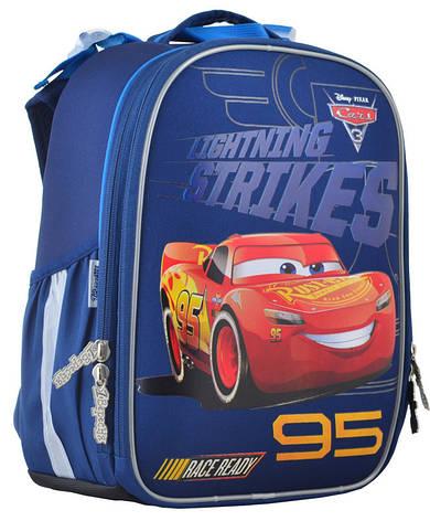 Рюкзак школьный 1 Вересня каркасный Cars EVA 555368, фото 2