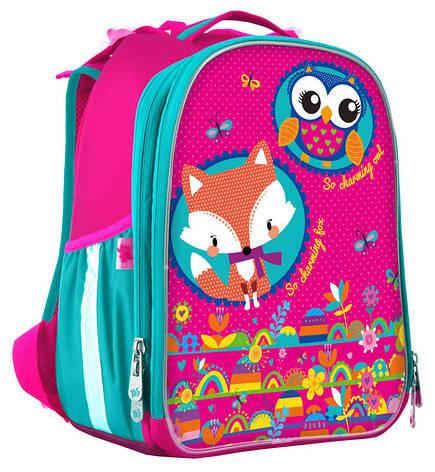 Рюкзак школьный Yes каркасный Hearts EVA 555786, фото 2