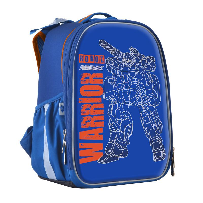 Рюкзак школьный 1 Вересня каркасный Robot EVA 555788