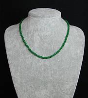 Ожерелье женское из натурального хризолита