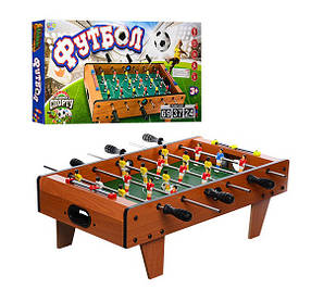 Настольный футбол Limo Toy 2035N на штангах, деревянный