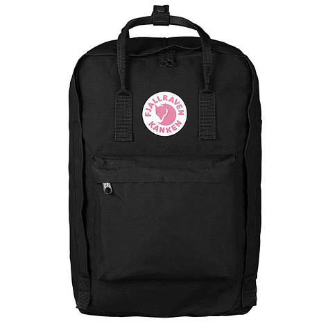 Рюкзак Fjallraven Kanken Laptop 17 Black, фото 2
