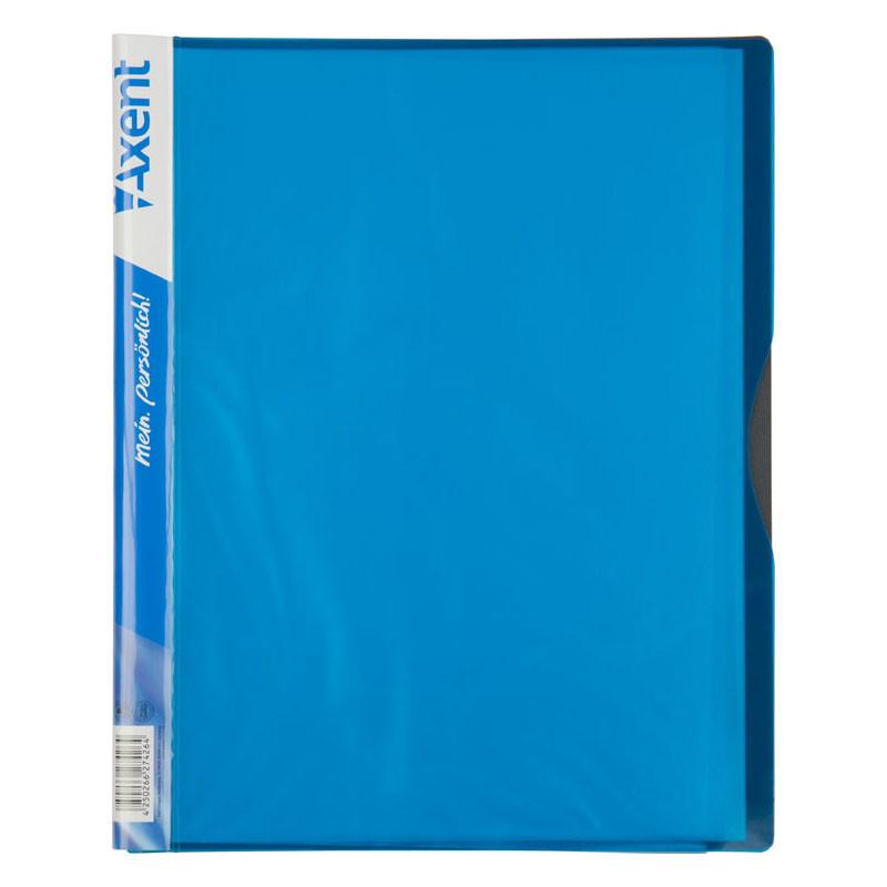 Папка с файлами Дисплей-книга Axent А4 20 файлов голубая 1120-07-A - Интернет-магазин «Низкоцен» в Киеве