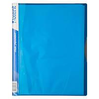 Дисплей-книга Axent А4 папка с 40 файлами голубой (1140-07-A)