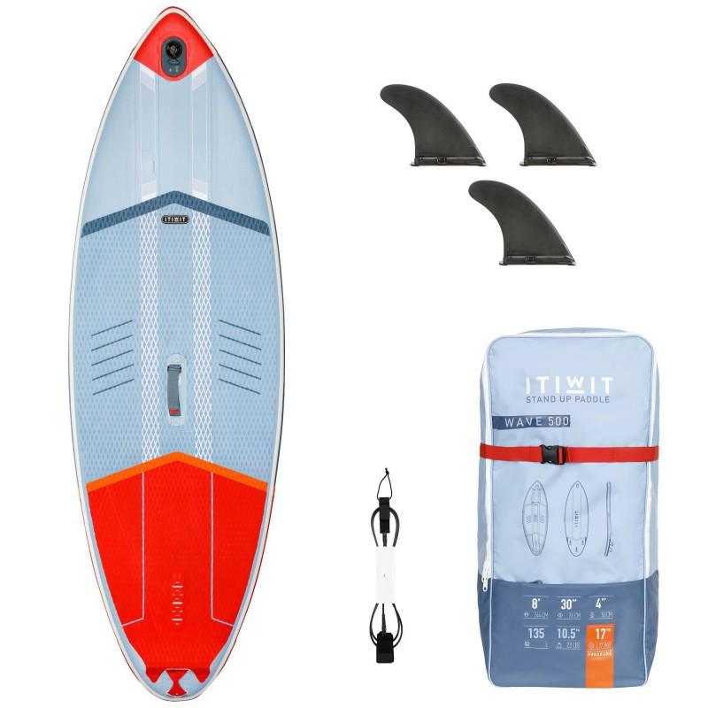 DESKA SUP SURF 500 PNEUM. 8'