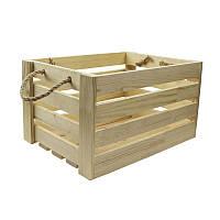Ящик квадратный сосна 37х37х21см 4820149903323