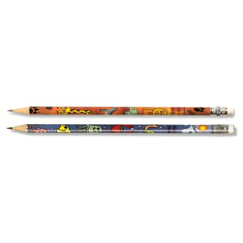 Графитный карандаш Koh-i-noor HB Сафари с ластиком 1231/5