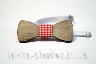 Детская деревянная галстук - бабочка