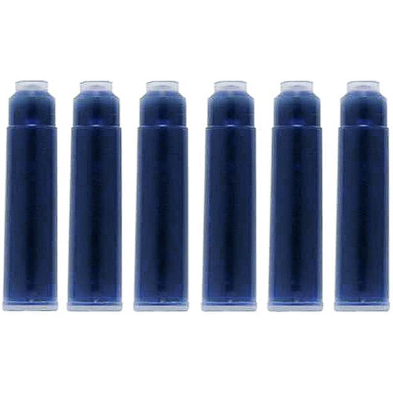 Картридж Koh-i-noor ампула для ручек набор 6шт синий 9991