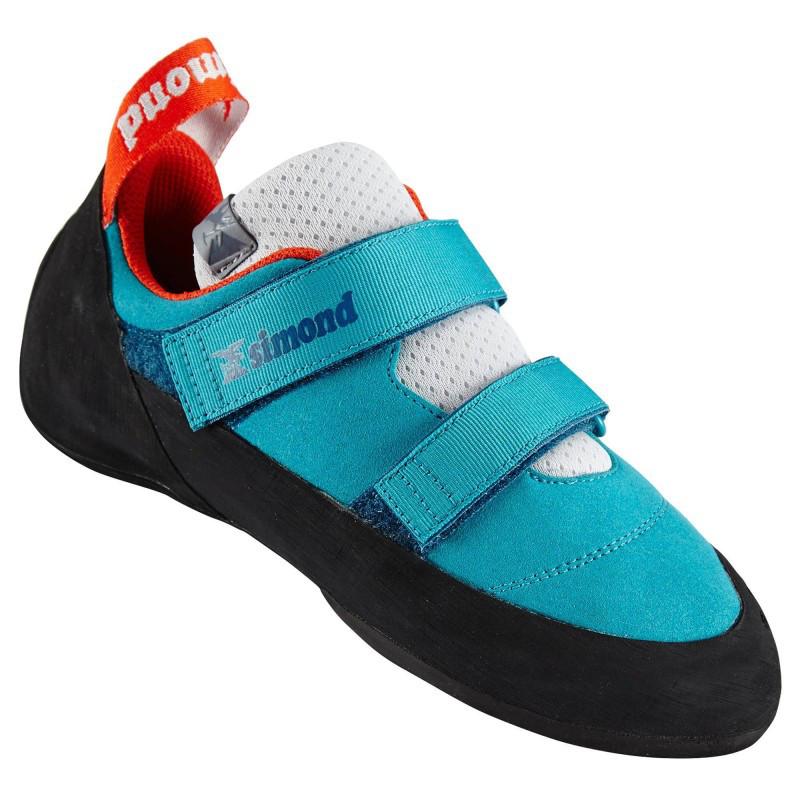 Buty wspinaczkowe Rock+ turkusowe